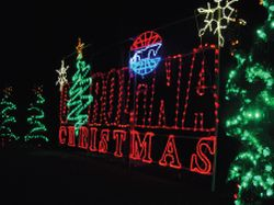 Christmas at charlotte motor speedway for Charlotte motor speedway christmas lights nc